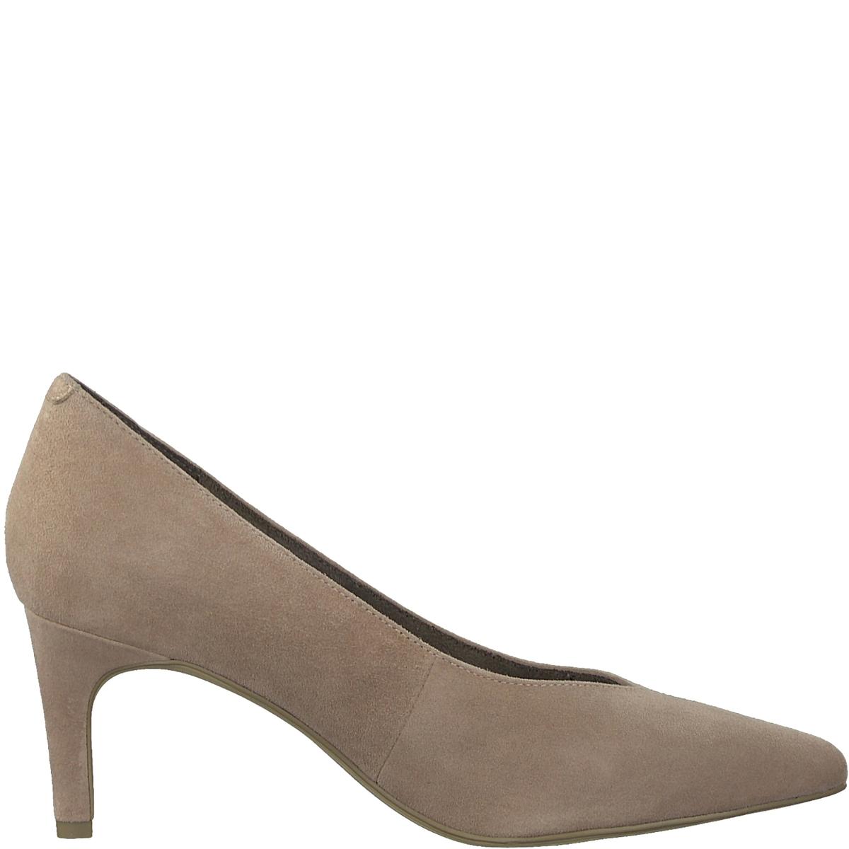 Туфли кожаные CabbageДетали •  Каблук-шпилька •  Высота каблука : 6,5 см •  Застежка : без застежки •  Заостренный мысокСостав и уход •  Верх 100% козья кожа •  Подкладка 50% синтетического материала, 50% текстиля •  Стелька 100% синтетический материал<br><br>Цвет: темно-розовый<br>Размер: 37.40