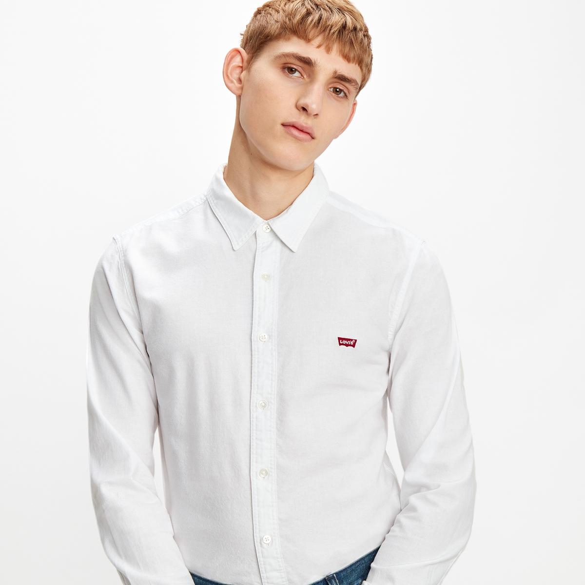 Image of Housemark Cotton Slim-Fit Shirt