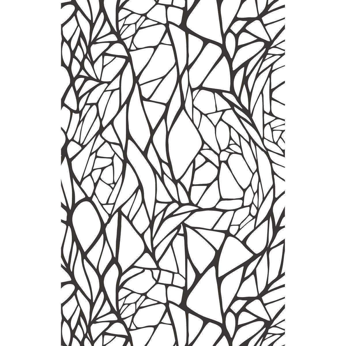 Papier peint intissé rib of leaf