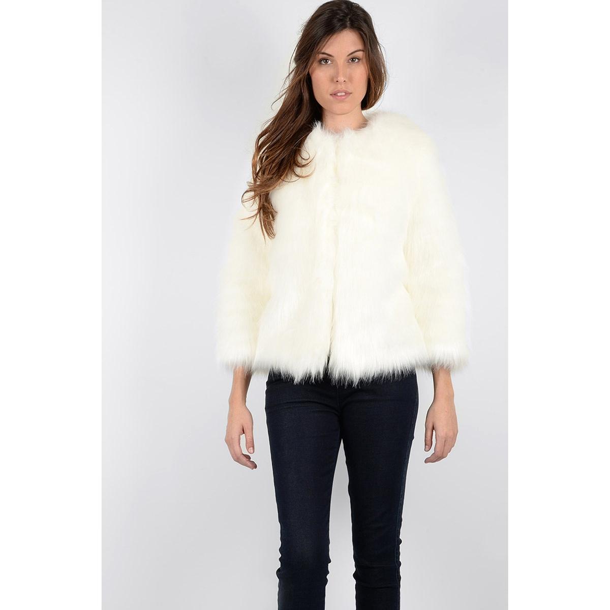 Пальто короткое из искусственного меха пальто из шерстяного драпа 70