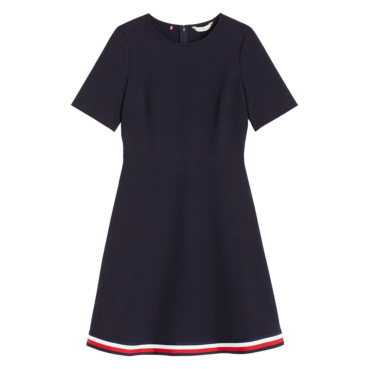 Tommy Hilfiger Angela mini jurk met gestreept detail online kopen