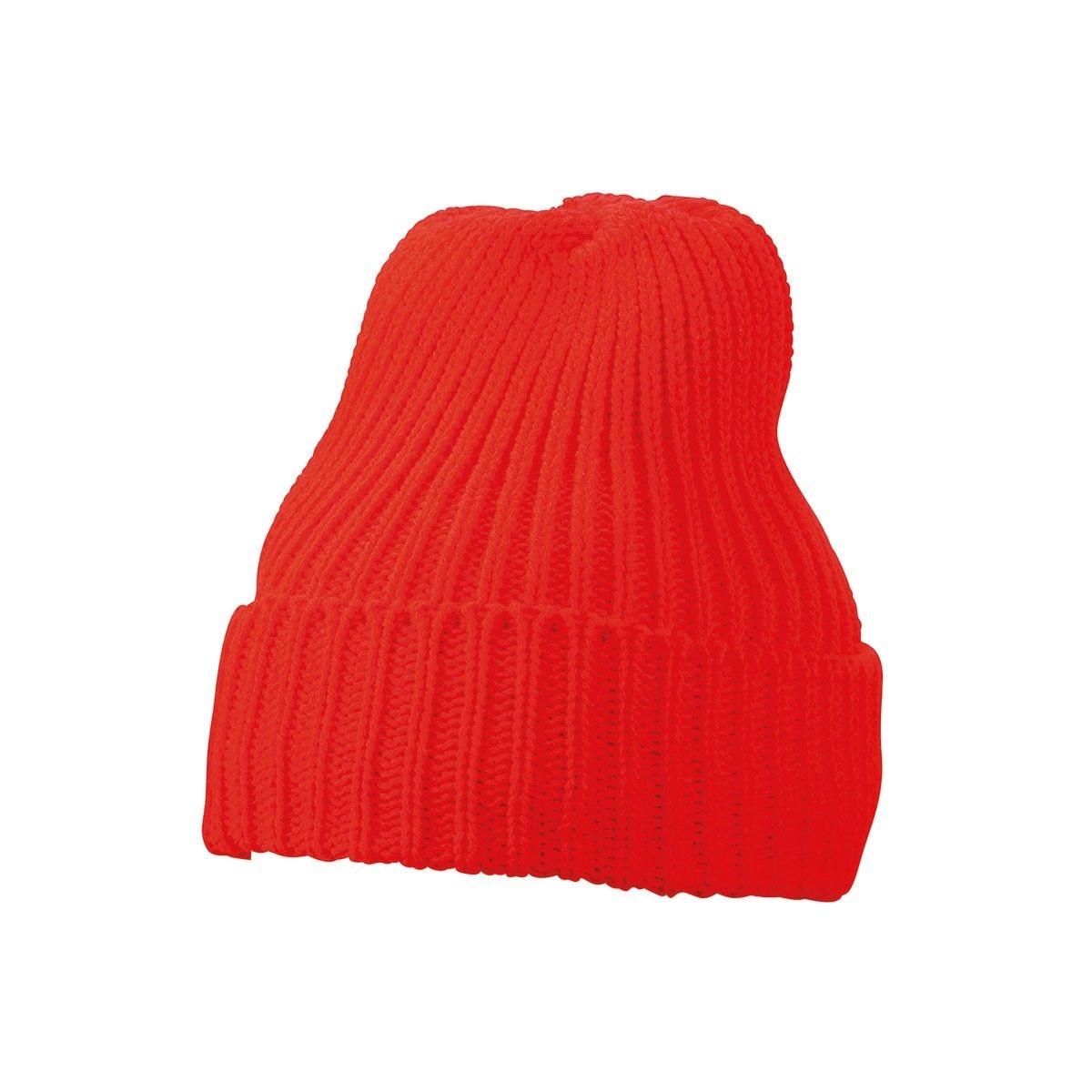 Bonnet en tricot doublé