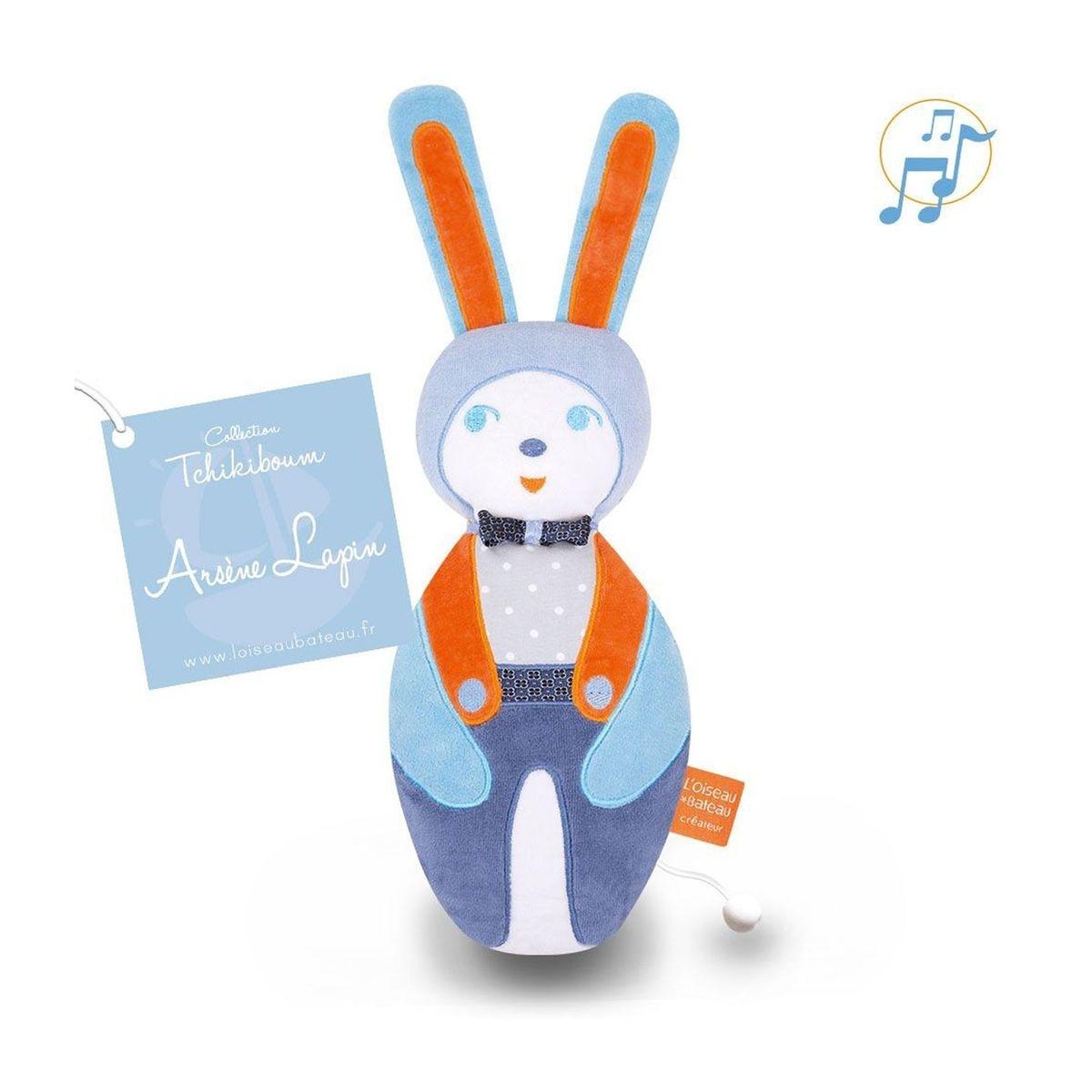 Doudou musical - Tchikiboum : Arsène lapin