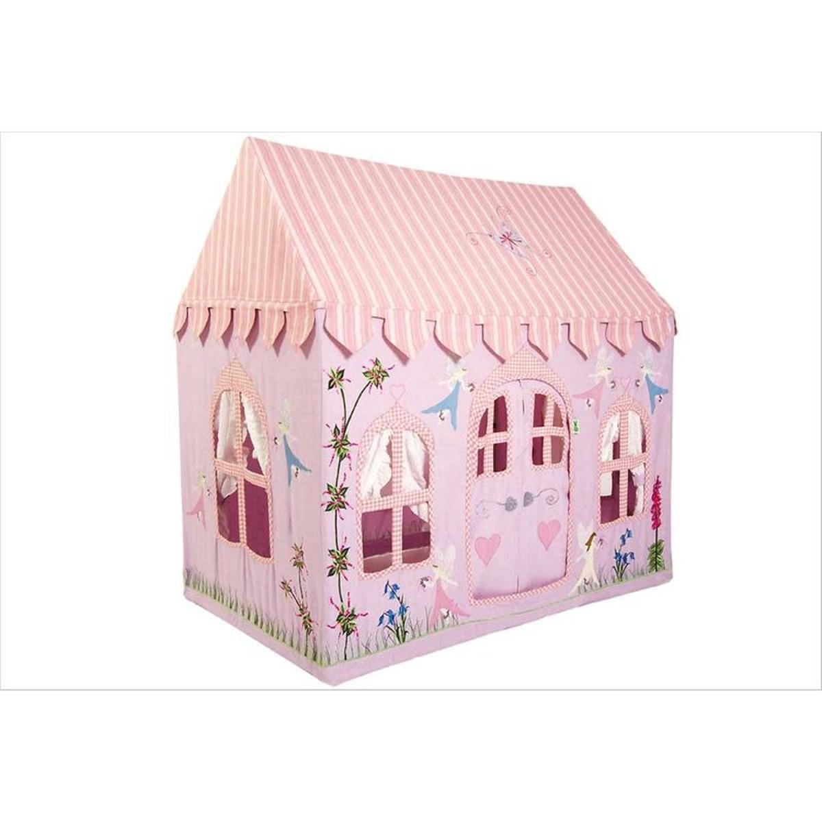 Petite maison de fées en tissu  filles