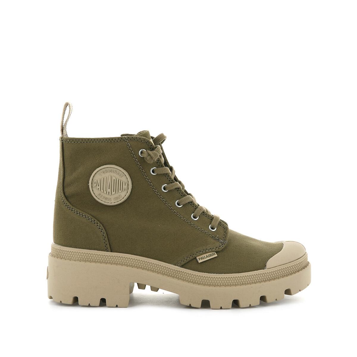 Ботинки La Redoute PALLABASE TWILL 39 зеленый
