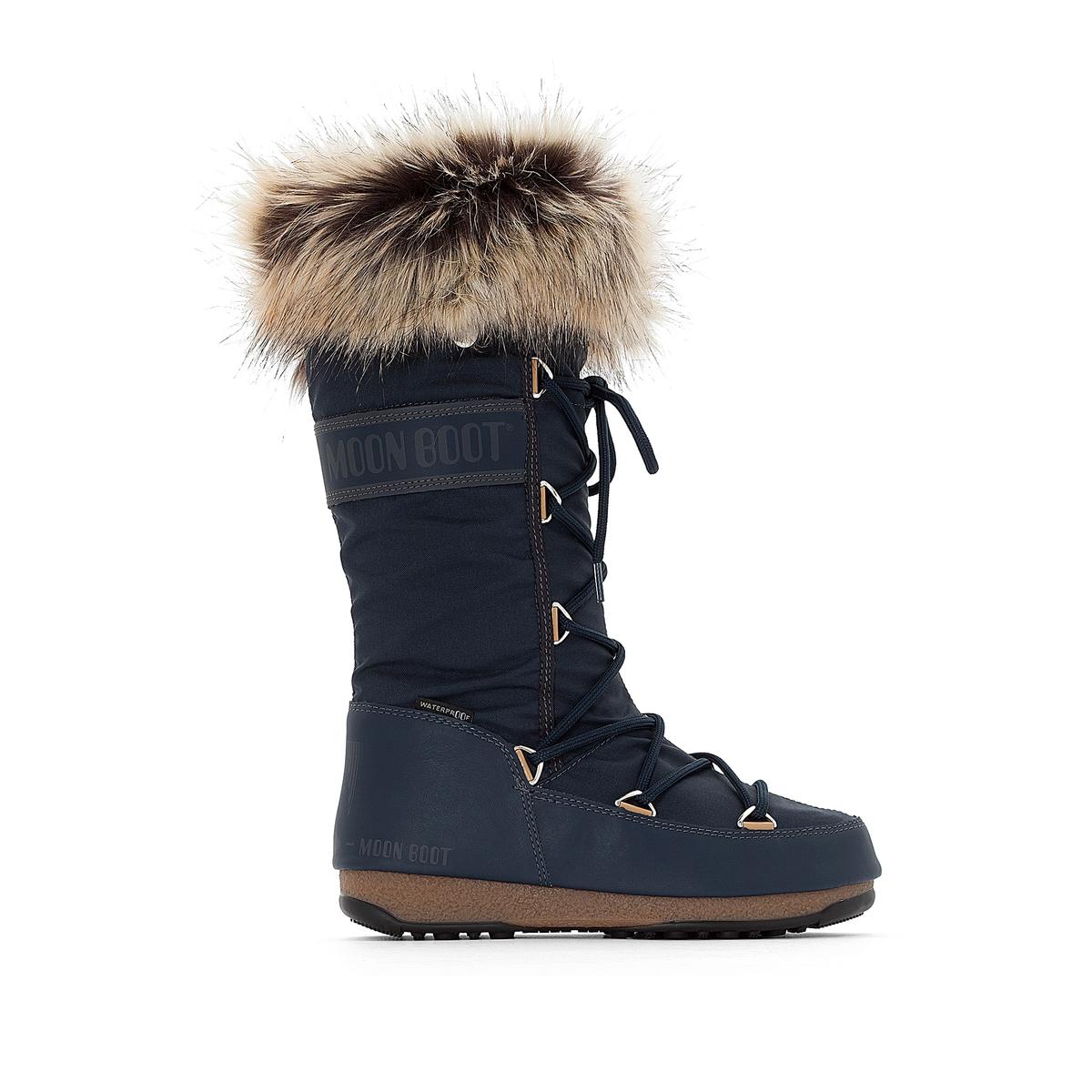Сапоги на меху Monaco moon boot лыжная одежда