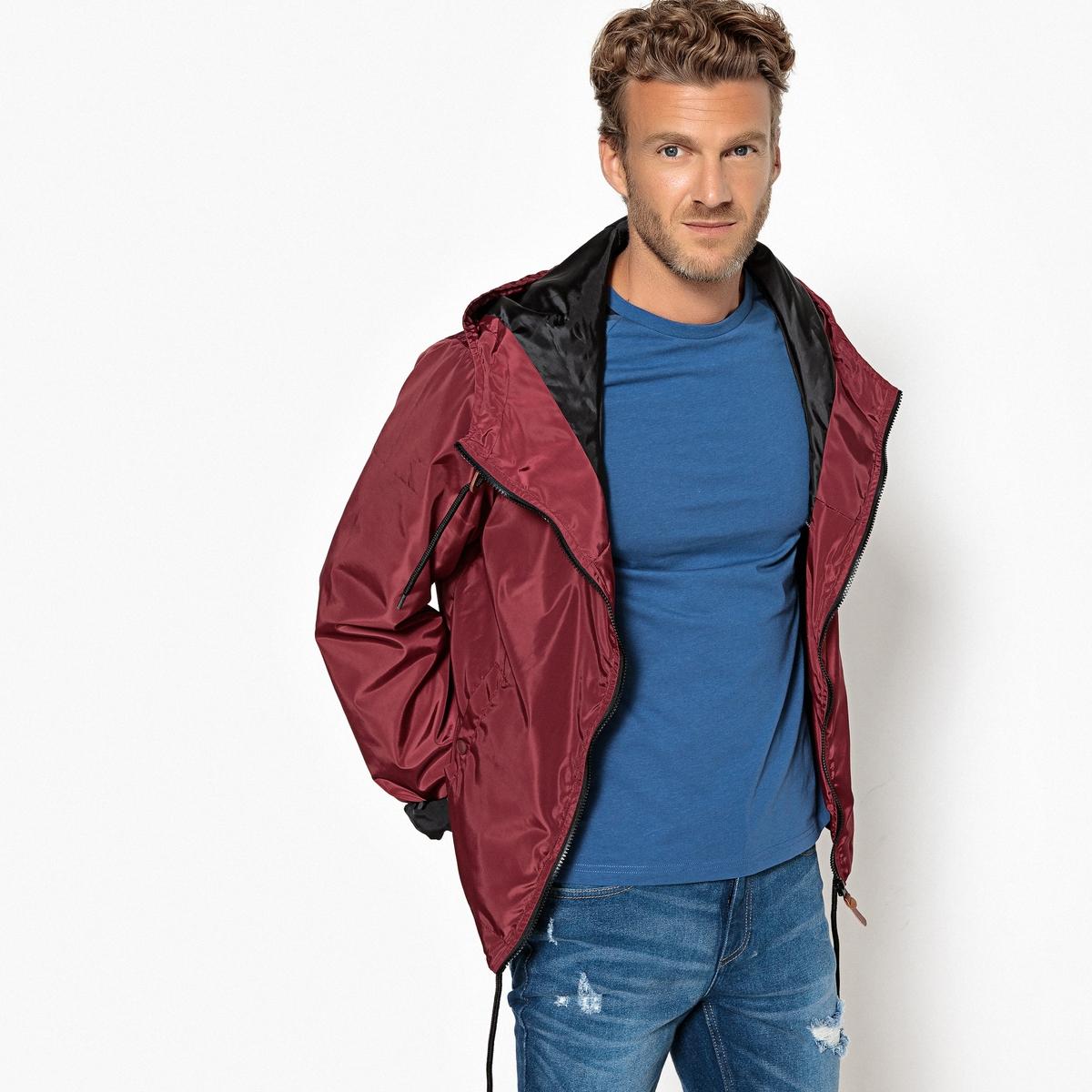 Блузон La Redoute Легкий с капюшоном L красный пальто la redoute из меха с капюшоном gabonback l синий