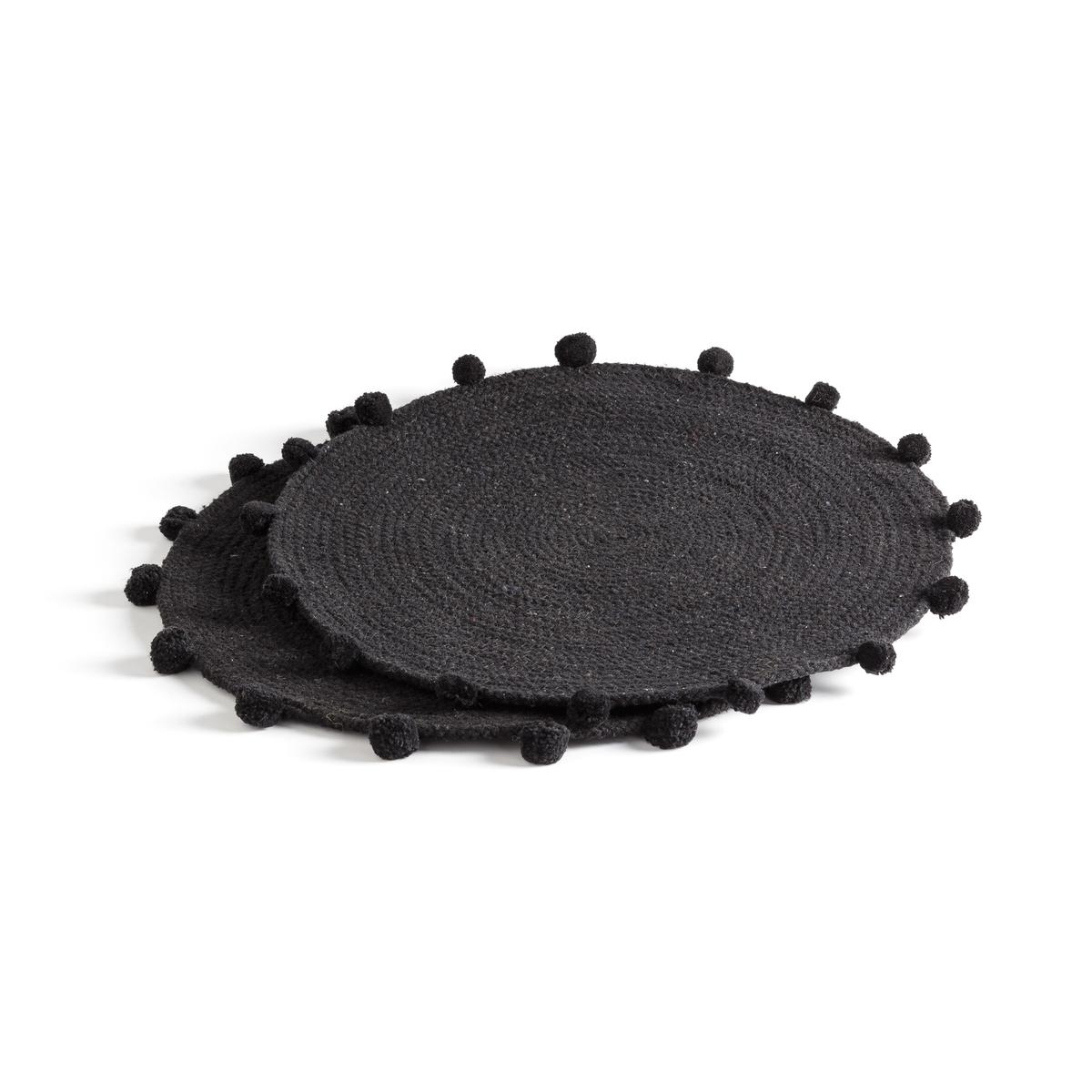 Комплект из подставок под La Redoute Приборы SIKLO единый размер черный комплект из 2 салфеток под приборы с рисунком maloja