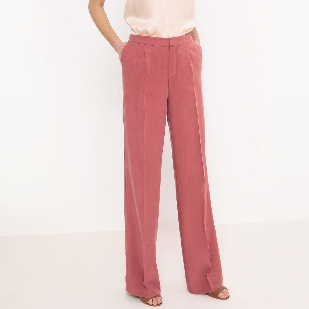 Pantalon large Lyocell