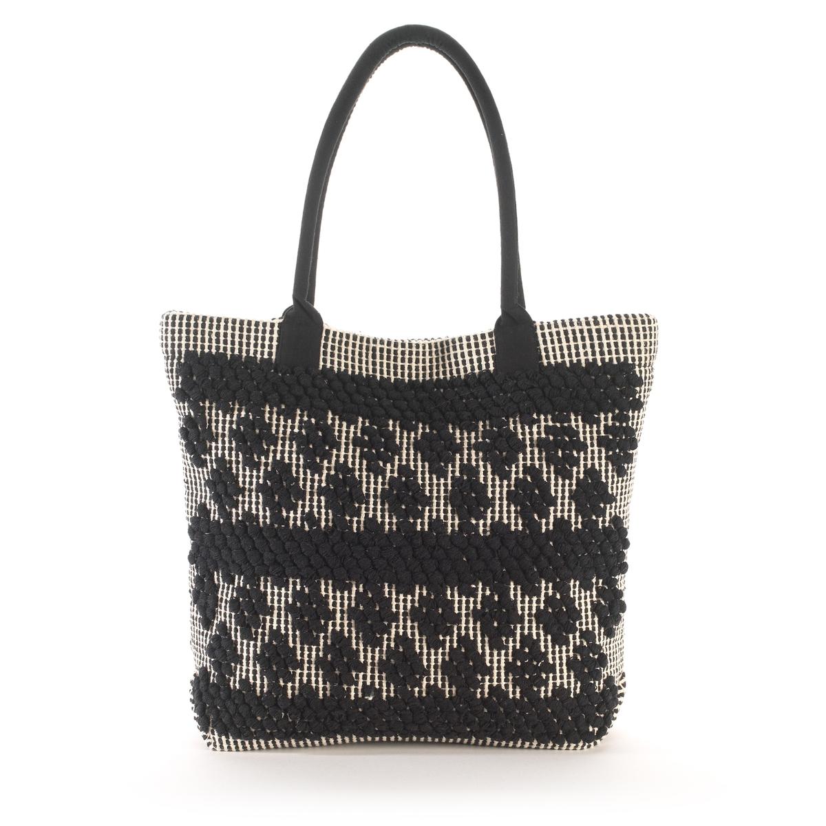 Сумка-шоппер плетеная