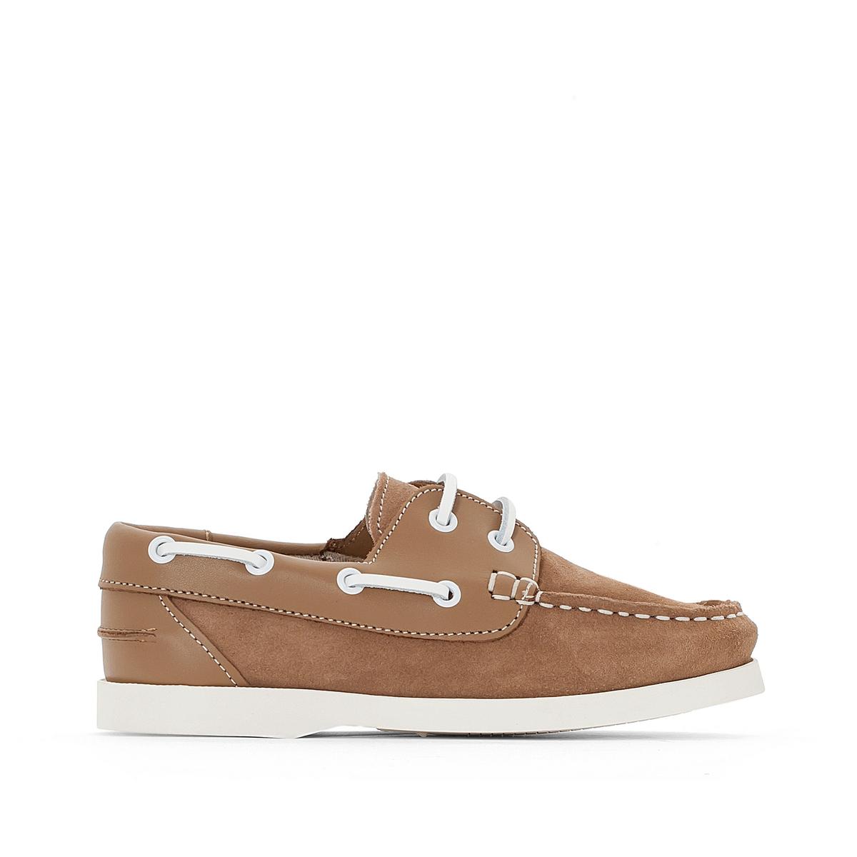 Туфли-лодочки из спилка яловичной кожи 26-40 ботинки из спилка