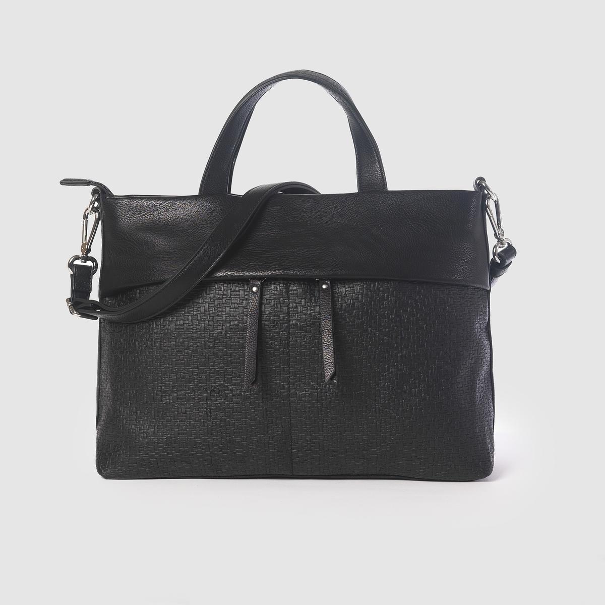 Сумка Fran City BagПреимущества: ESPRIT разработал эту сумку на каждый день для любого стиля.<br><br>Цвет: черный