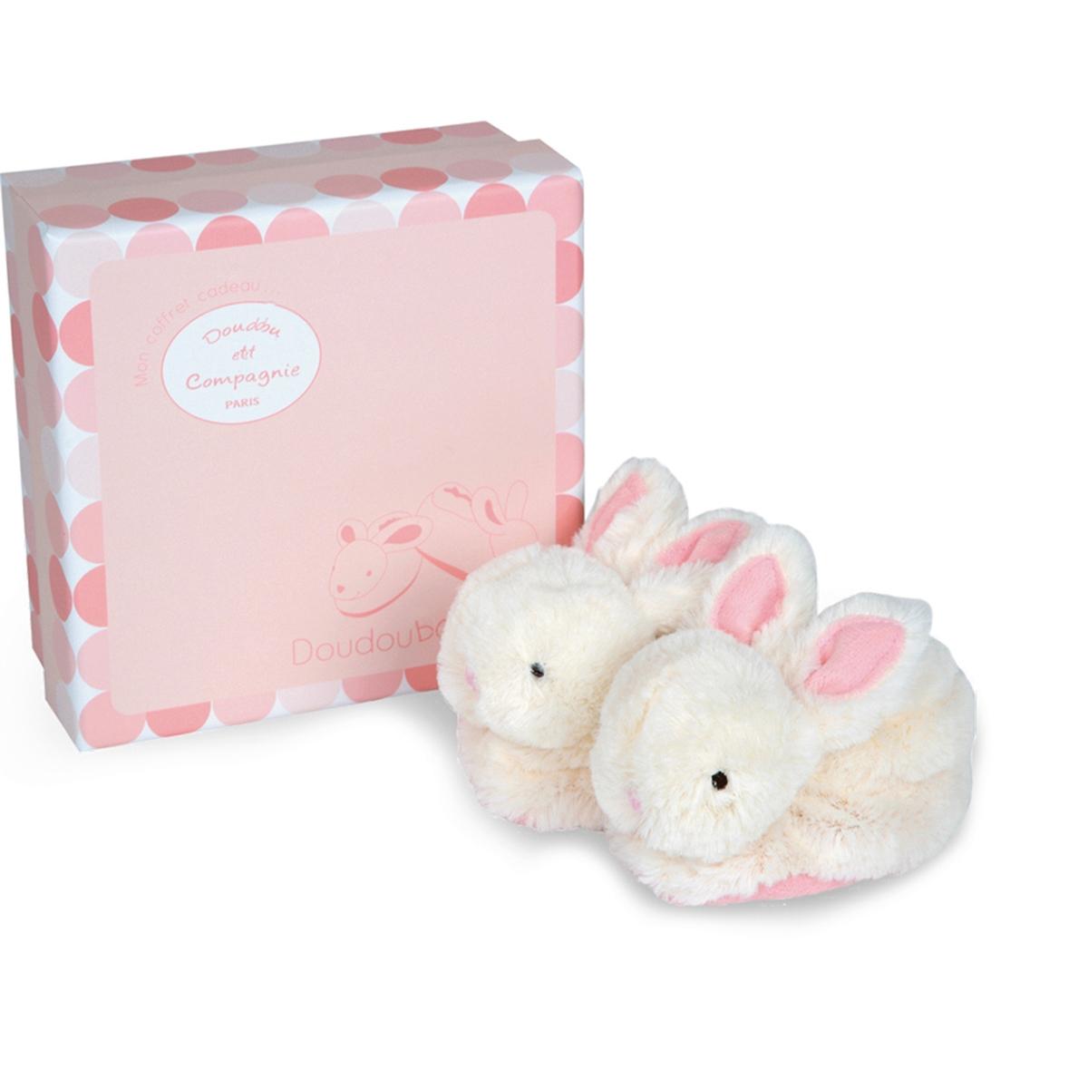 Confezione scarpine con giochino rosa 0-6 mesi - Lapi