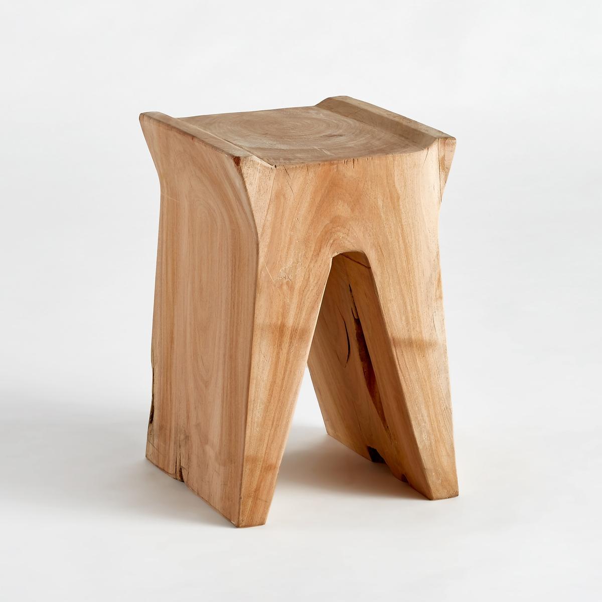 Журнальный столик из акации, SeduwaЖурнальный столик Seduwa. Настоящий предмет декора, диванный столик в форме моста можно использовать как ночной столик или журнальный столик (с другими моделями коллекции).Характеристики :- Из массива акации. Массив дерева - это живой материал, который может изменить свой внешний вид и на котором могут со временем образоваться небольшие трещинки. Размеры :- диаметр 30 x высота 45 см<br><br>Цвет: серо-бежевый