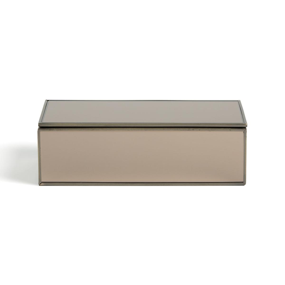 Коробка-витрина La Redoute С зеркалом Ш x В x Г см Digori единый размер бежевый костюм санты с бантиком 42 44