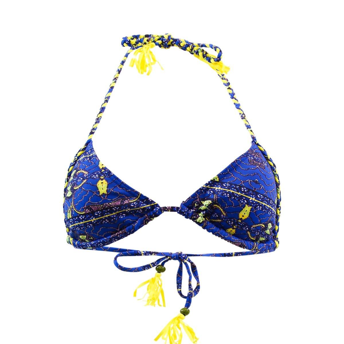Maillot de bain Triangle Africain Bleu