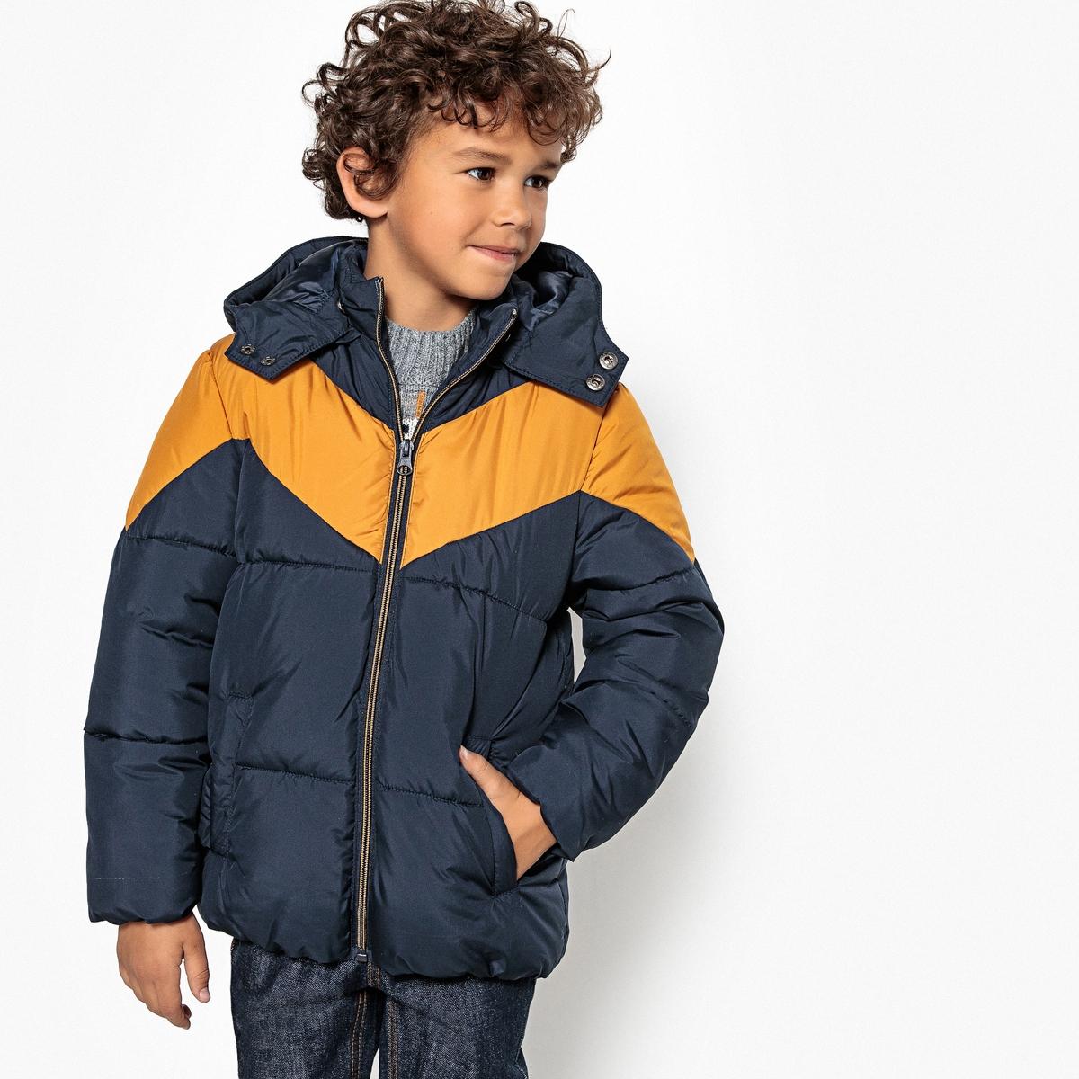 Куртка стеганая со съемным капюшоном 3-12 лет