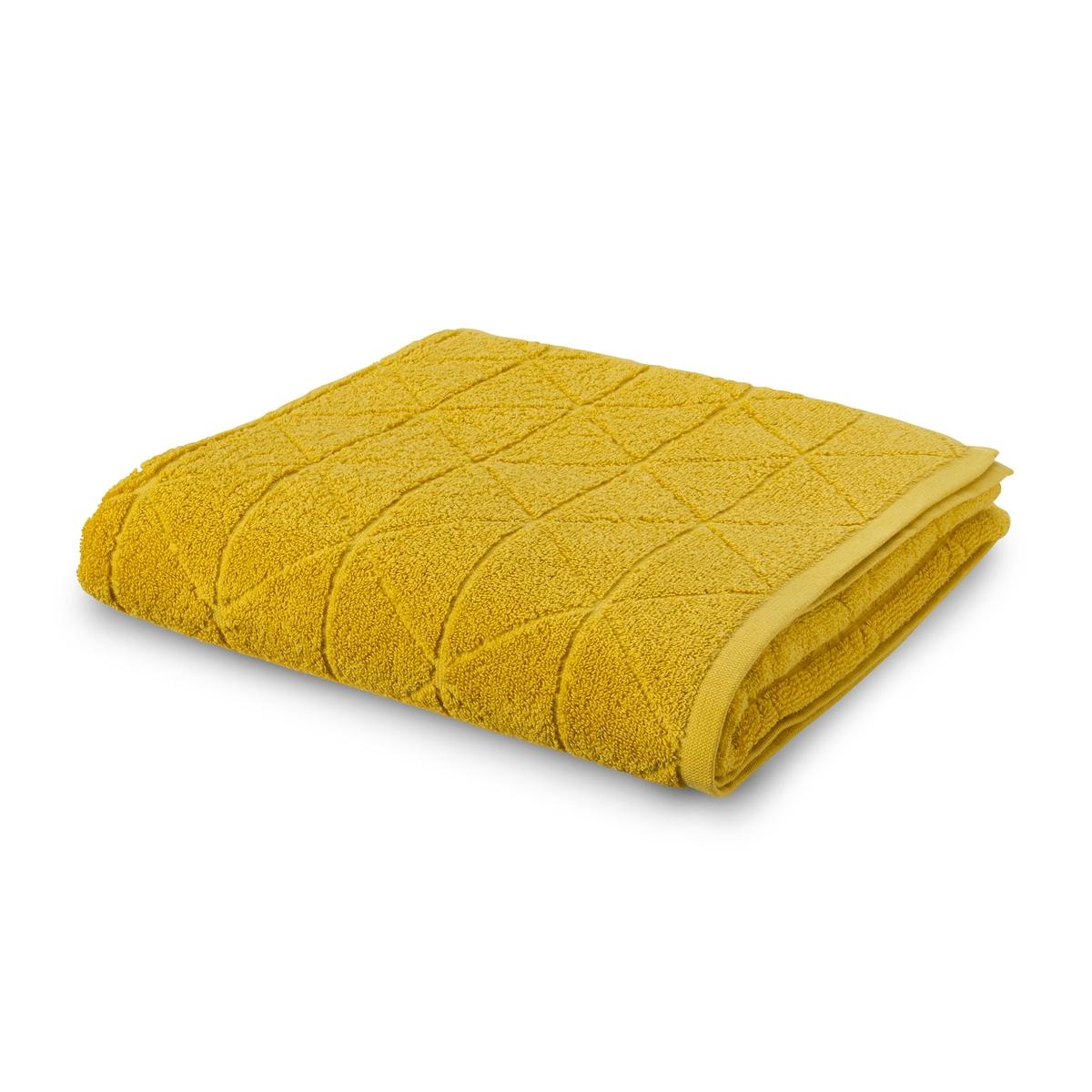 Полотенце La Redoute Для рук с узором гм SCENARIO 50 x 100 см желтый полотенце la redoute для рук из махровой ткани хлопок с люверсом единый размер бежевый