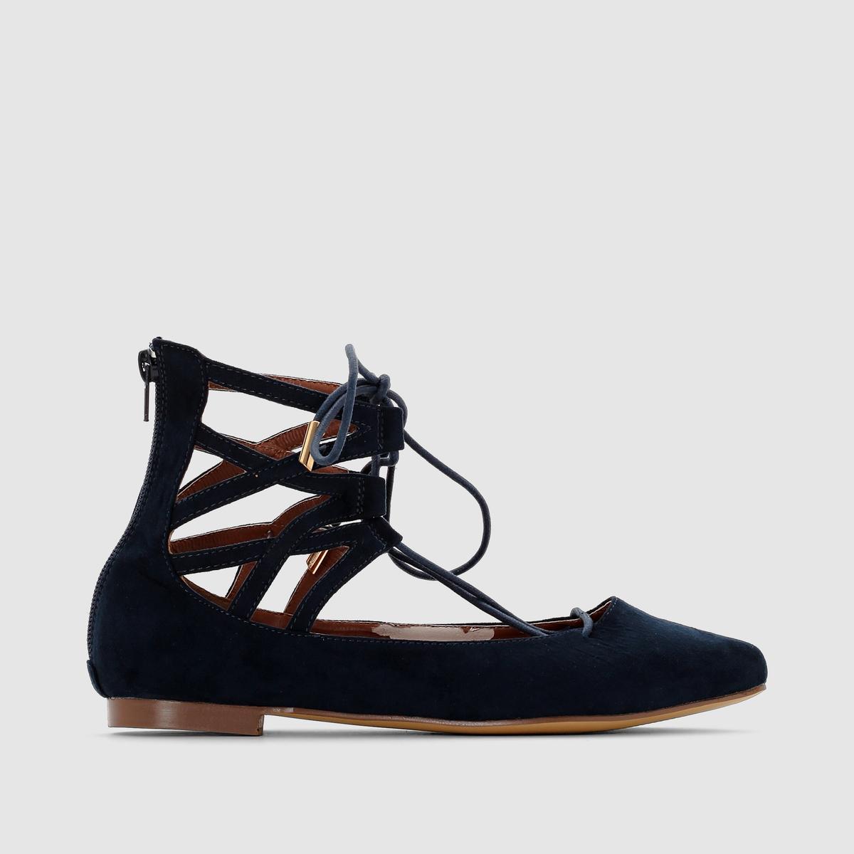 Балетки в стиле спартанских сандалий от La Redoute Collections