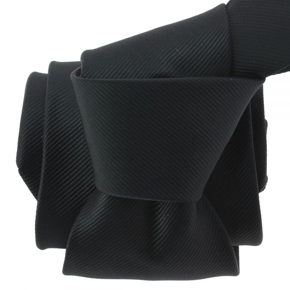 Cravate Bistrot. Microfibre Uni