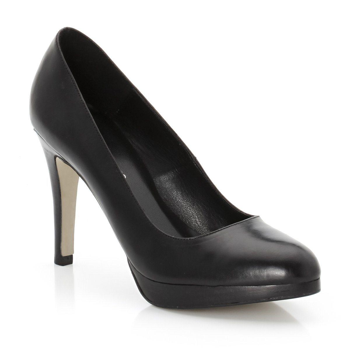 Туфли кожаныеТуфли с заостренным мысом JONAK. Верх из кожи. Подкладка и стелька из кожи. Каблук 8 см. Подошва из эластомера. Воплощение шика и гламура!<br><br>Цвет: бежевый