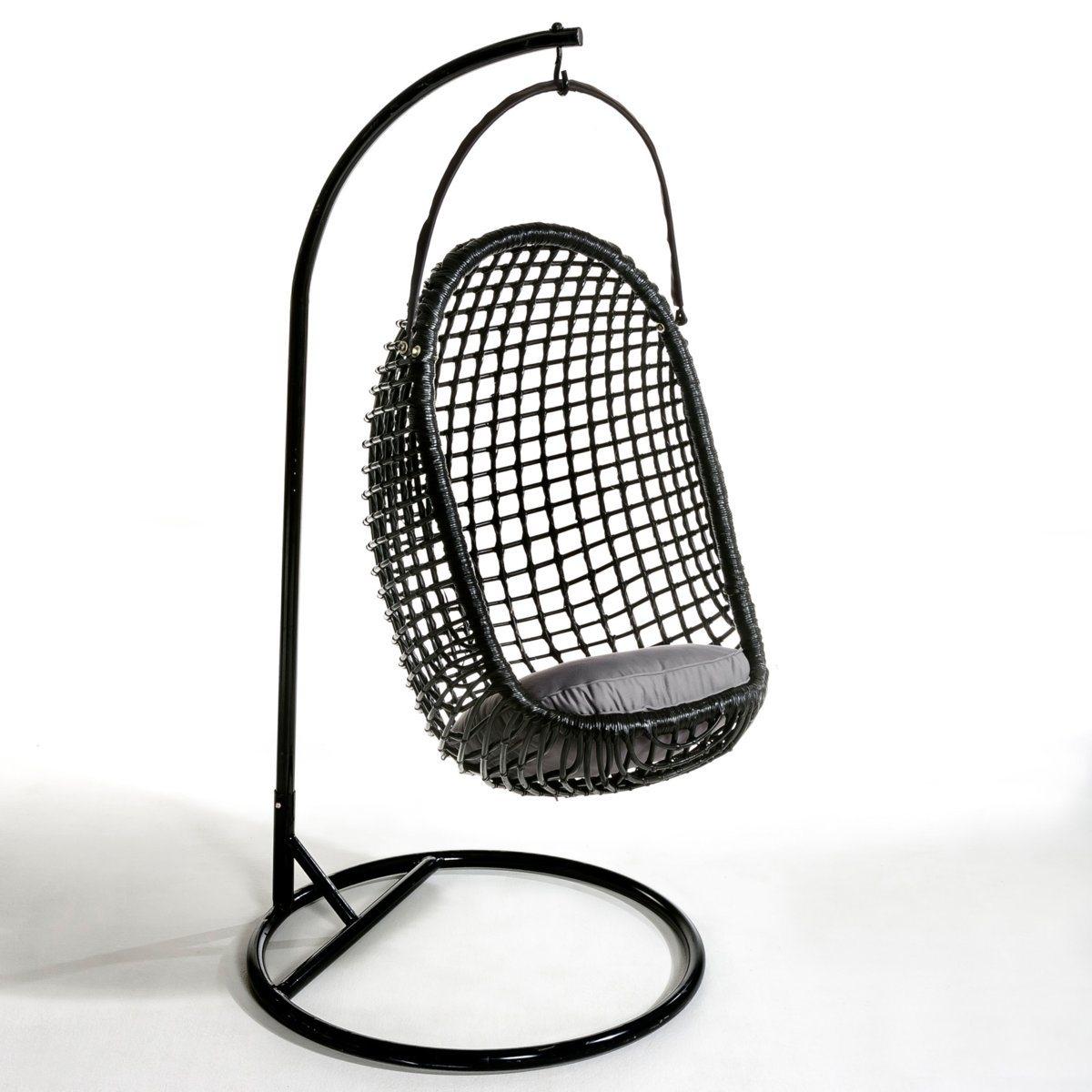 Кресло LaRedoute Подвесное Swing единый размер черный