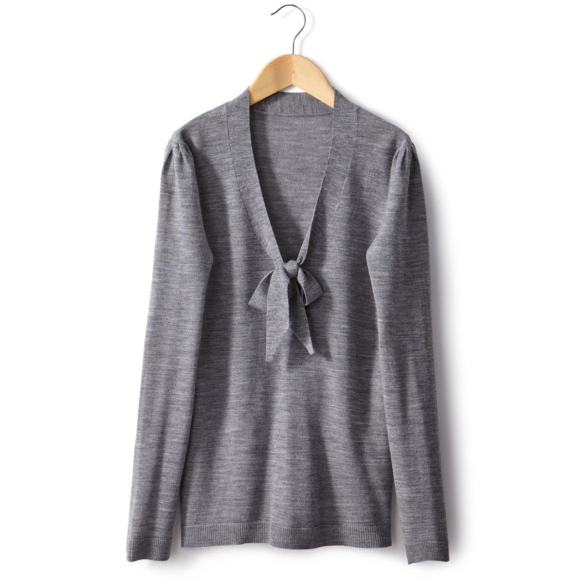 Пуловер, 100% шерсти
