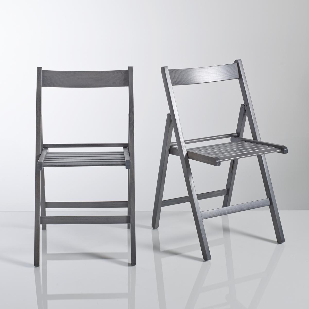2 складных стула из массива бука Yann2 складных стула Yann. Практичные и необходимые в любом доме складные стулья Yann из массива дерева в 4 цветах с лаковым покрытием, подчеркивающим фактуру древесины. Европейское производство.     Характеристика складных стульев Yann:Сертифицированный массив бука FSC (FSC n°C104535), анилиновое лаковое покрытие (на водной основе) подчеркивает фактуру древесины.Крепления из оцинкованной стали.Вся коллекция Yann на сайте laredoute.ru.Размеры складных стульев Yann:Общие размеры для 1 стулаДлина: 43 см.Высота: 80 см.Ширина: 47 см.Сиденье: Д38 x В45 x Ш30 см.Вес: 3 кг.Размеры и вес упаковки:1 упаковка.Д89 x В15 x Ш45 см.7 кг.Доставка:2 складных стула Yann продаются в собранном виде.Внимание! Убедитесь в том, что посылку можно доставить на дом, учитывая ее габариты(проходит в двери, по лестницам, в лифты).<br><br>Цвет: красный,серо-бежевый,серый<br>Размер: единый размер