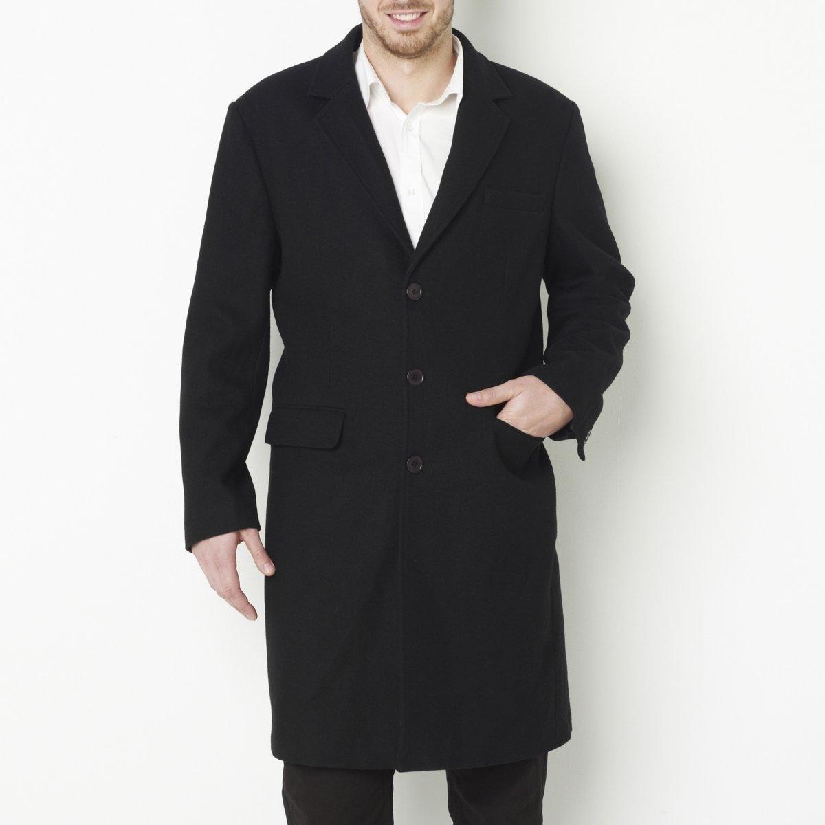 Пальто, 60% шерсти от La Redoute