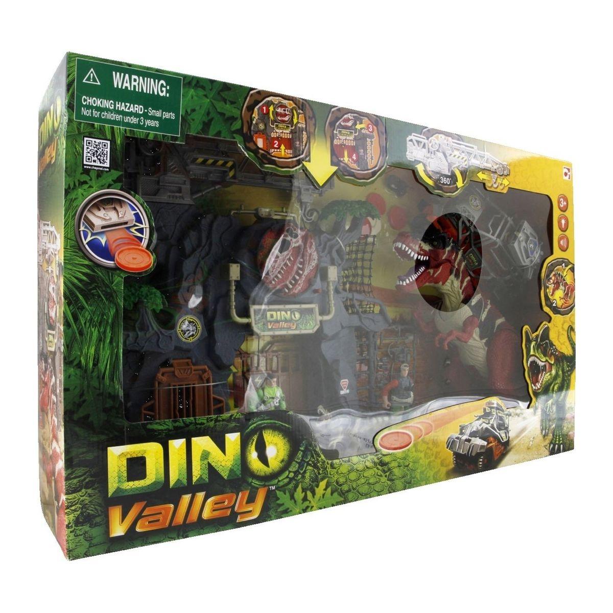 Coffret Dino Valley avec grand T-rex