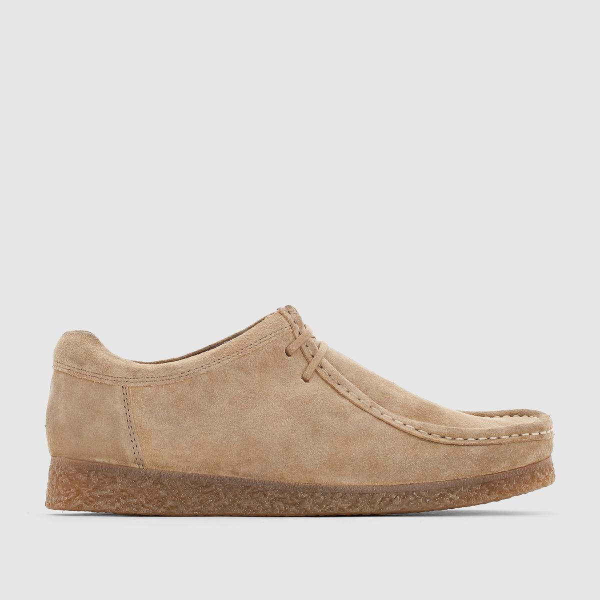Ботинки-дерби кожаные BASE LONDON GENESISПреимущества : ботинки-дерби BASE LONDON в стиле мокасин на шнуровке. Очень элегантная и мягкая замша.<br><br>Цвет: серо-коричневый<br>Размер: 43