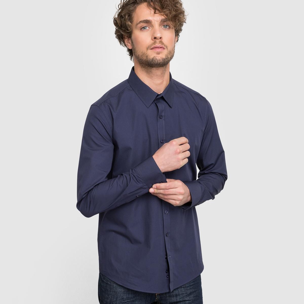 Рубашка узкого покроя
