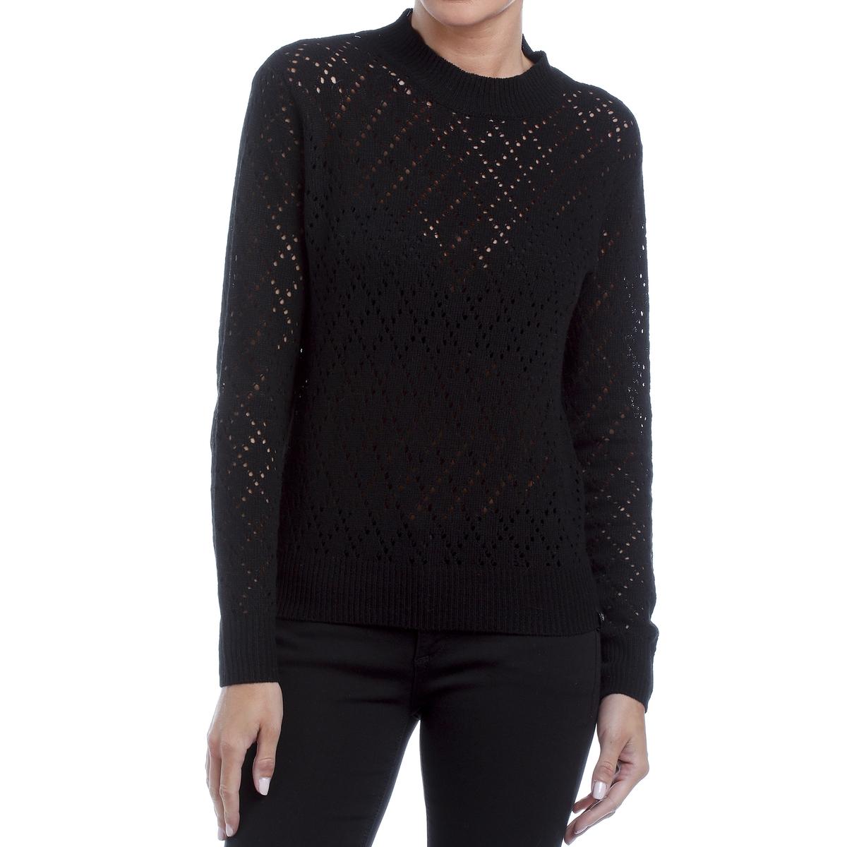 Пуловер ажурный из трикотажа ажурный пуловер quelle ajc 787037