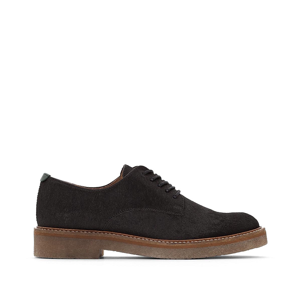Ботинки-дерби кожаные Oxfork