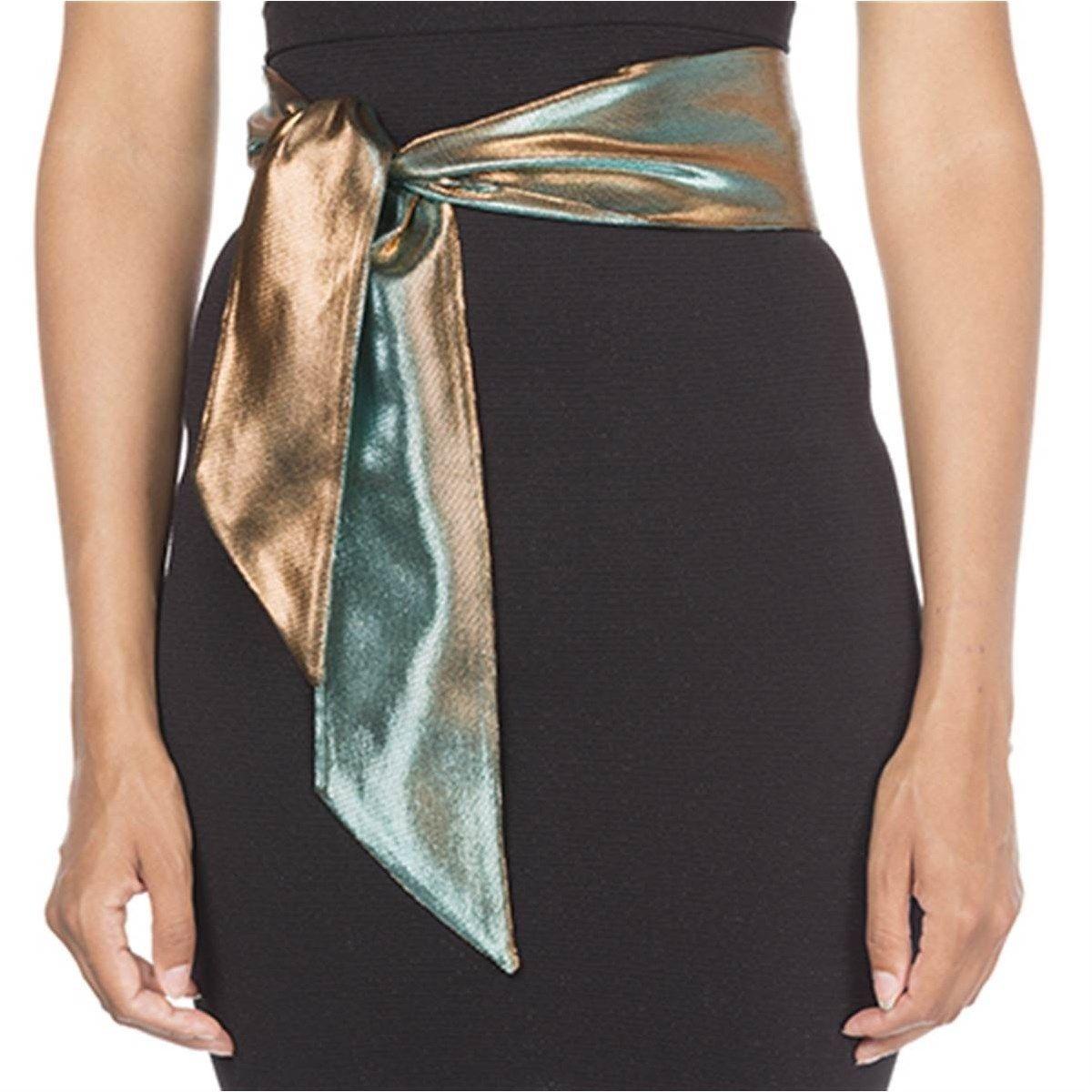 Ceinture textile à nouer  en Fil textile® bicolore Rock