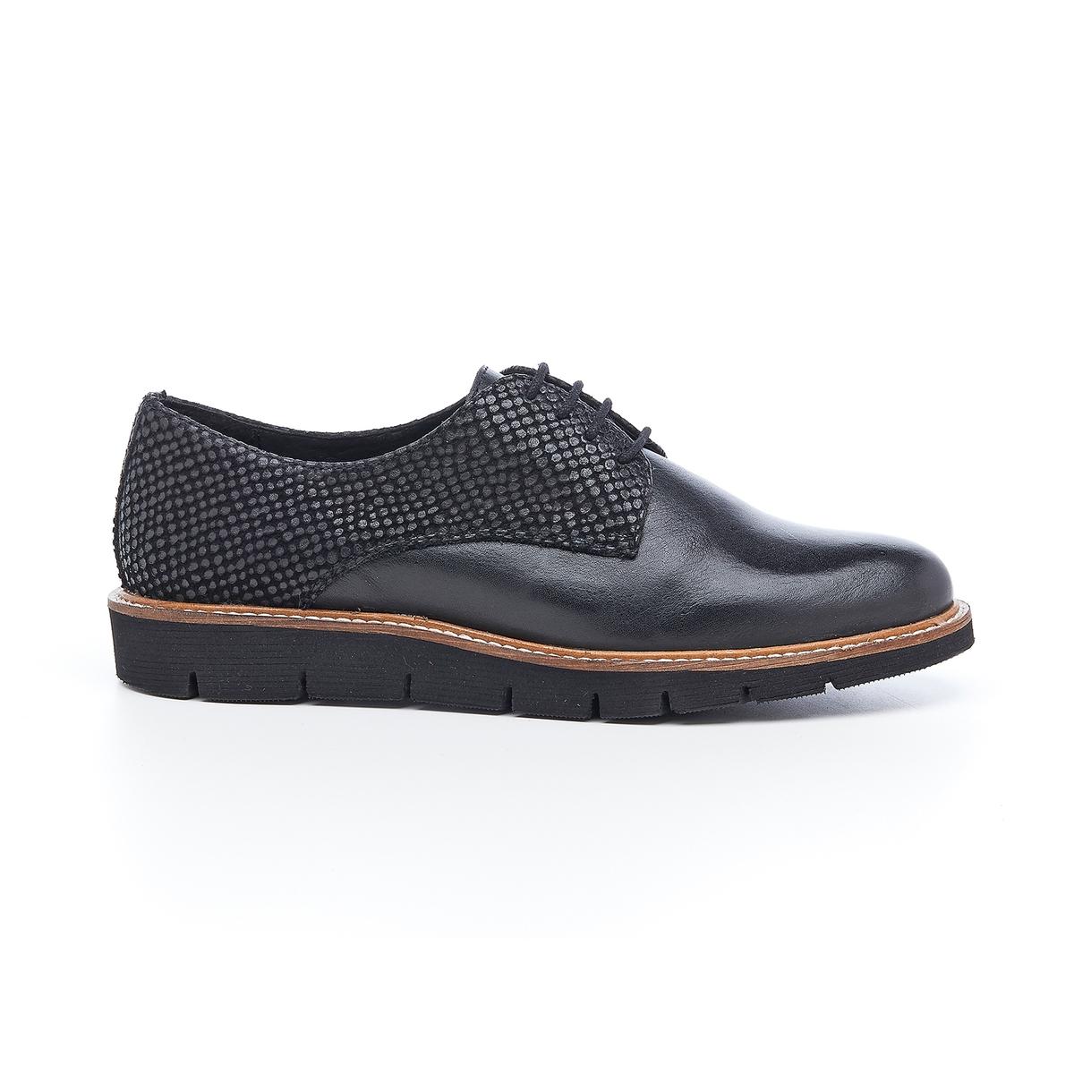 Ботинки-дерби кожаные Saule ботинки дерби под кожу питона