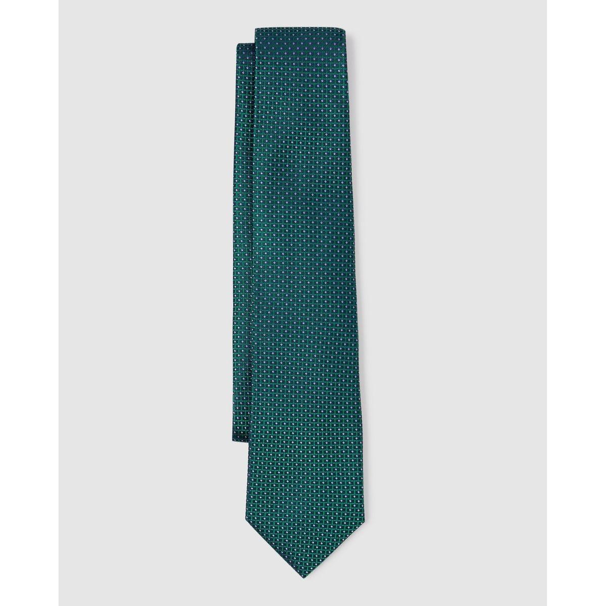 Cravate en soie minitexture