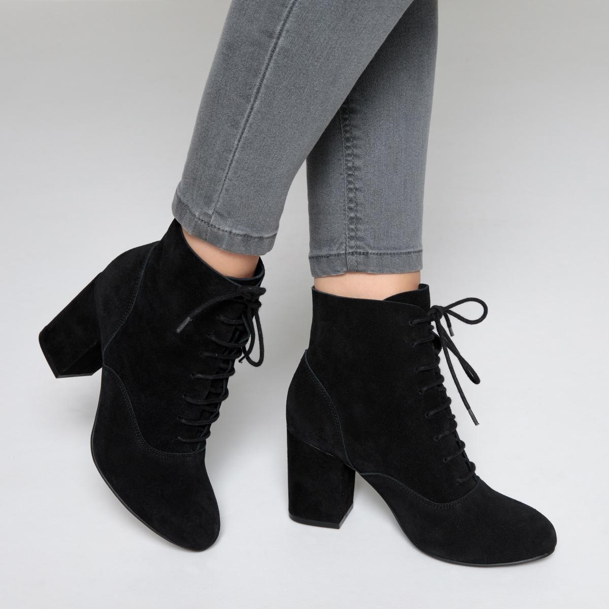 Ботильоны кожаные на шнуровке ботильоны на шнуровке orilegend