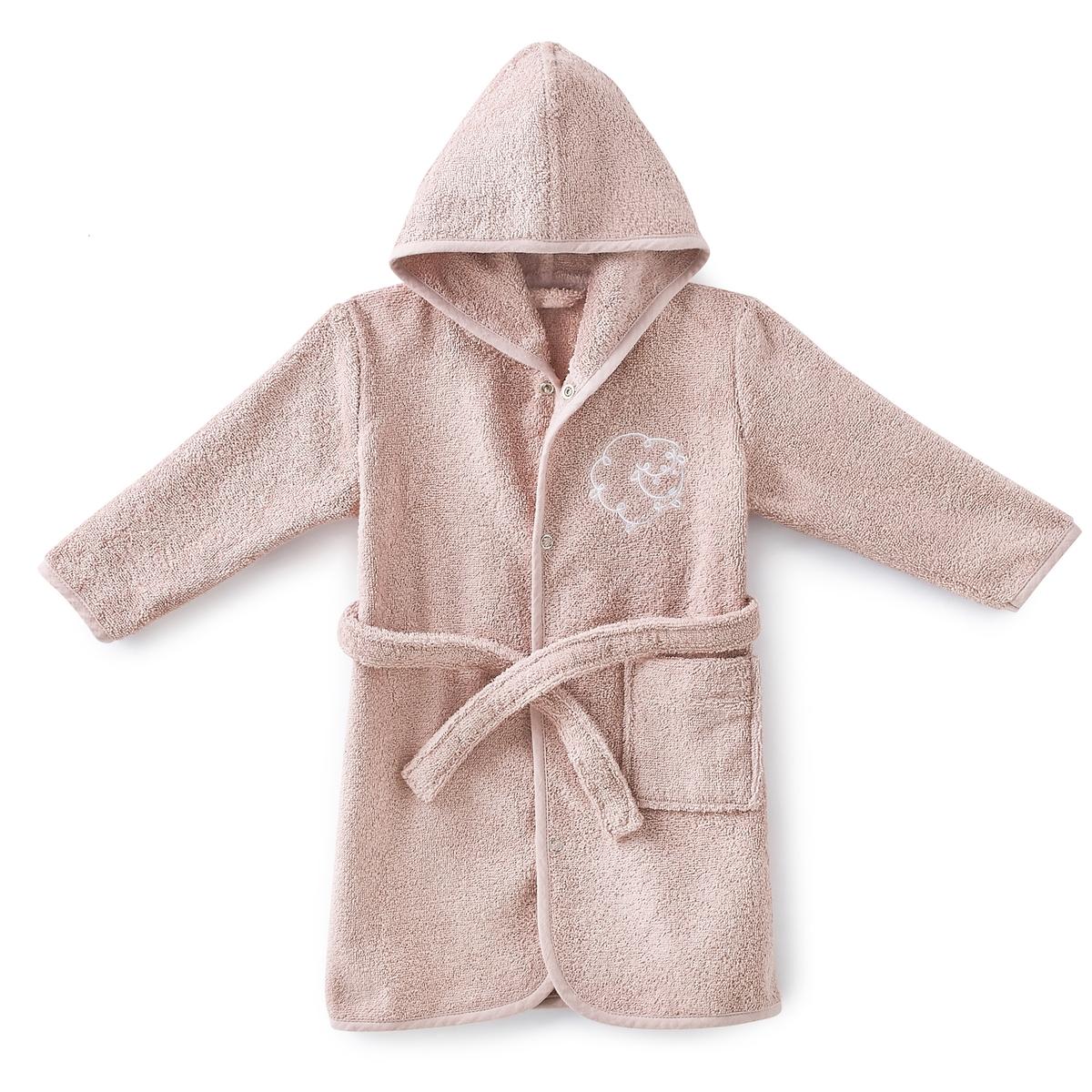 Пеньюар LaRedoute — Детский махровый LITTLE SHEEP 2 года - 86 см розовый