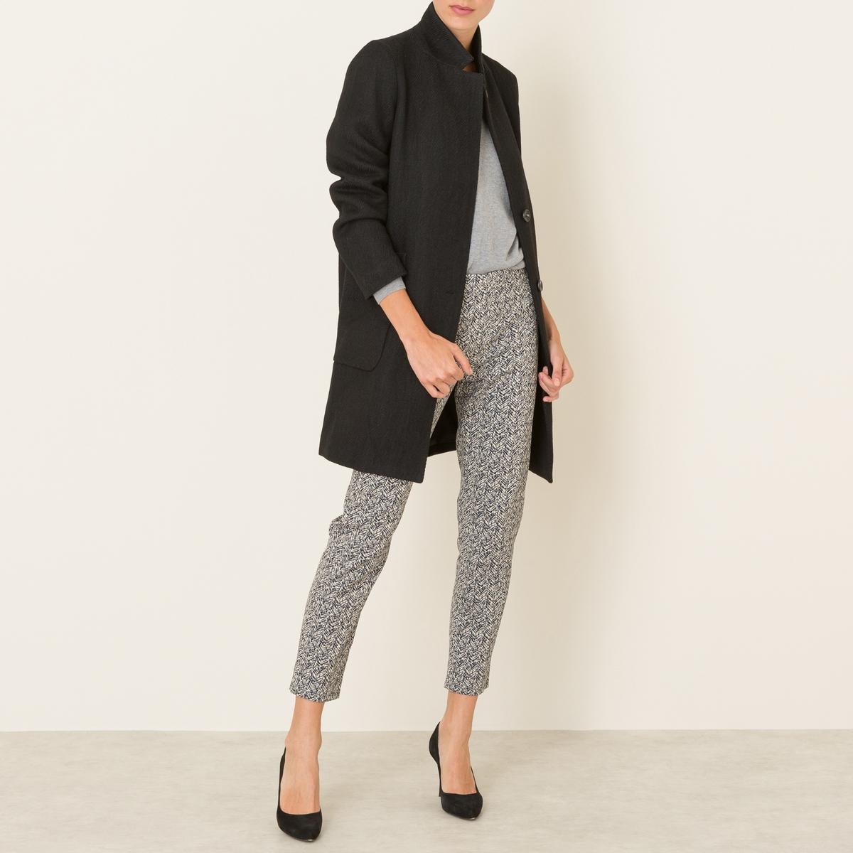 Пальто длинное от La Redoute