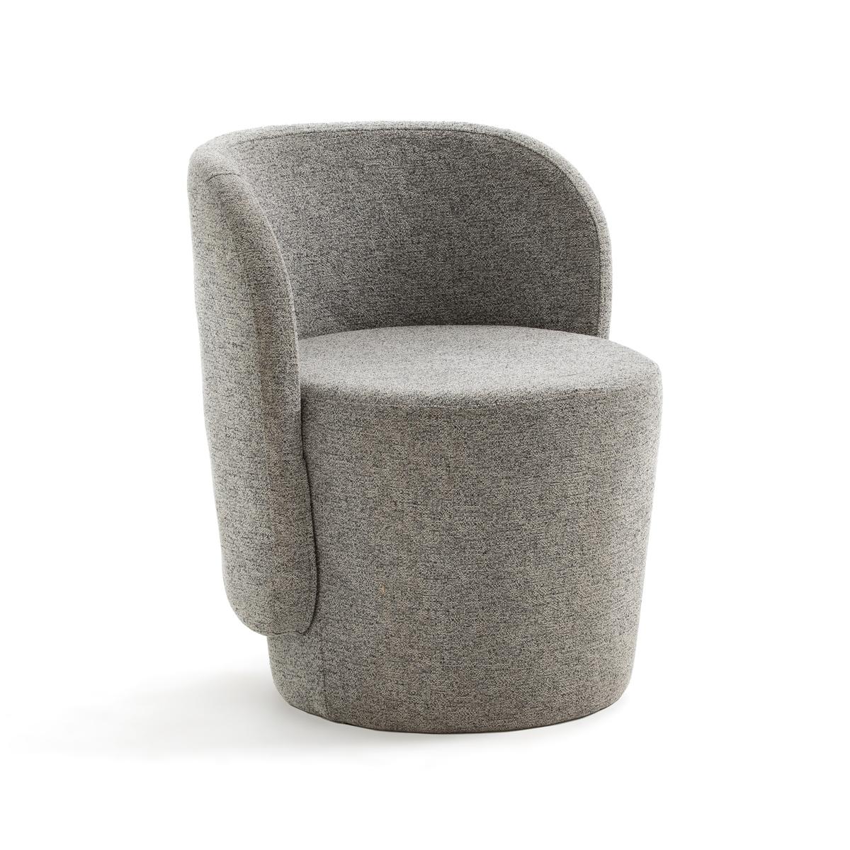 Кресло La Redoute Компактное Belfort единый размер серый цена