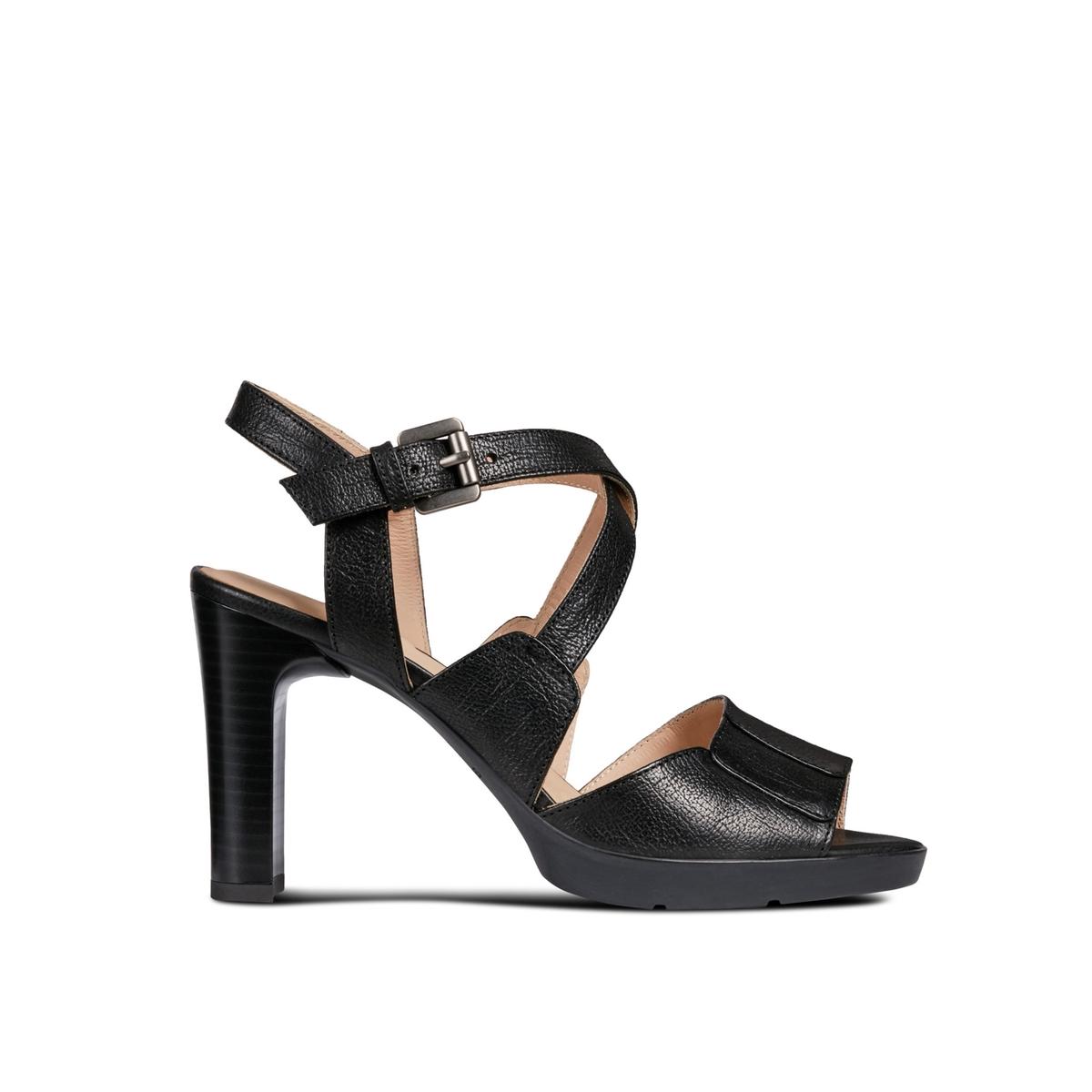 Sandalias de piel Annya High Sandal
