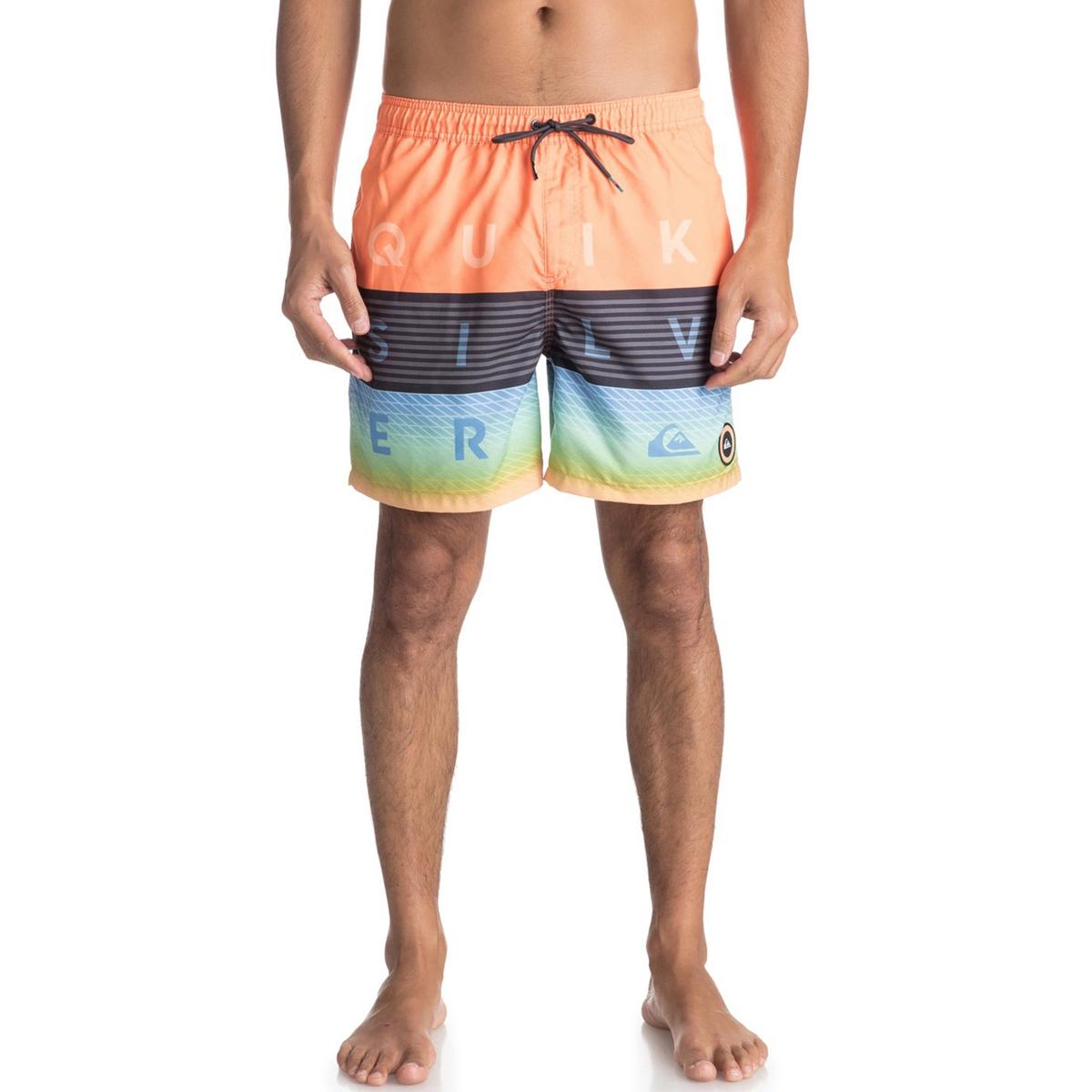 Шорты пляжные с рисунком шорты quiksilver wrk str sh summer blues