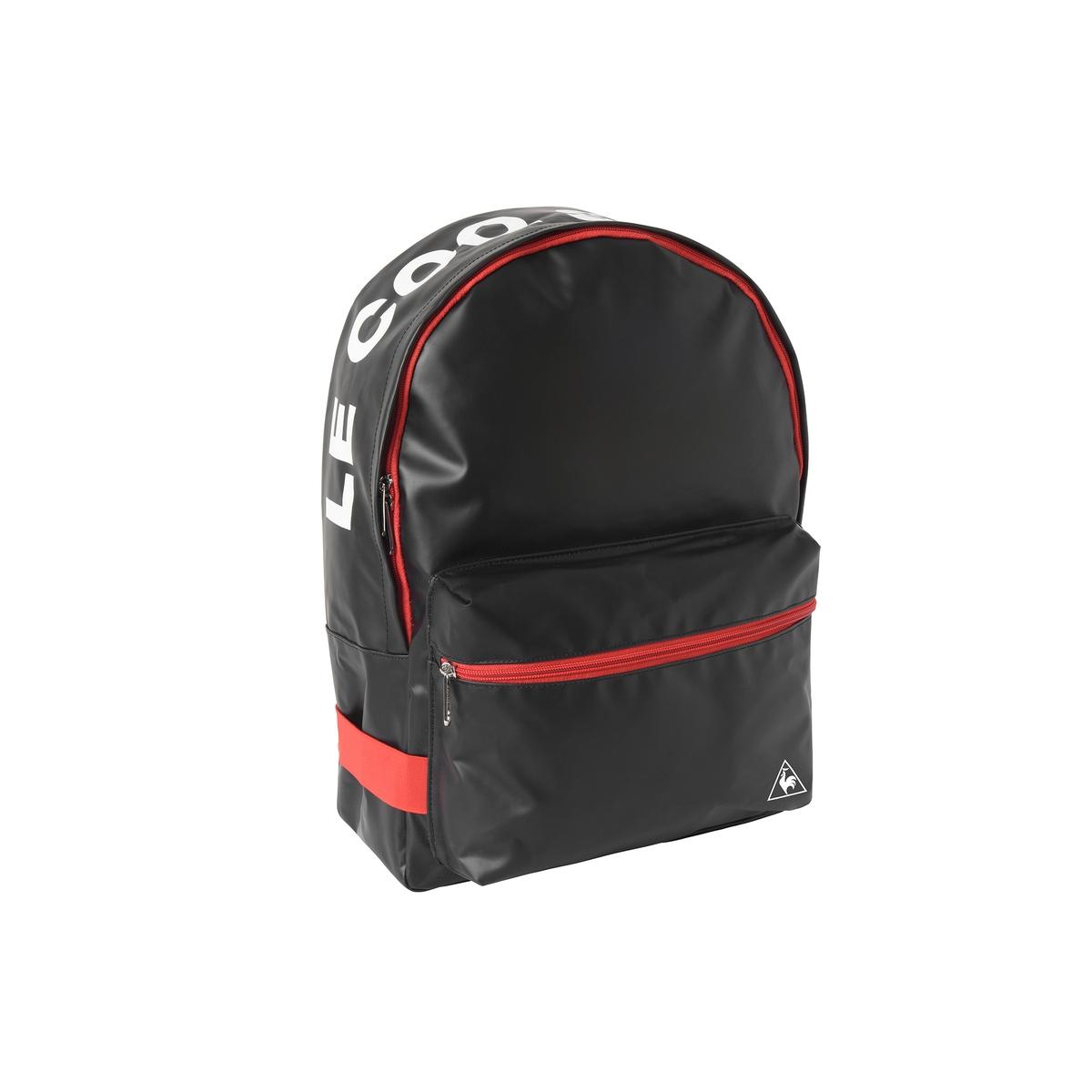 Рюкзак Nacarat backpackРюкзак NACARAT BACKPACK от LE COQ SPORTIF - Синтетический материал - Синтетическая подкладка - Застежка на молнию.<br><br>Цвет: черный/ красный