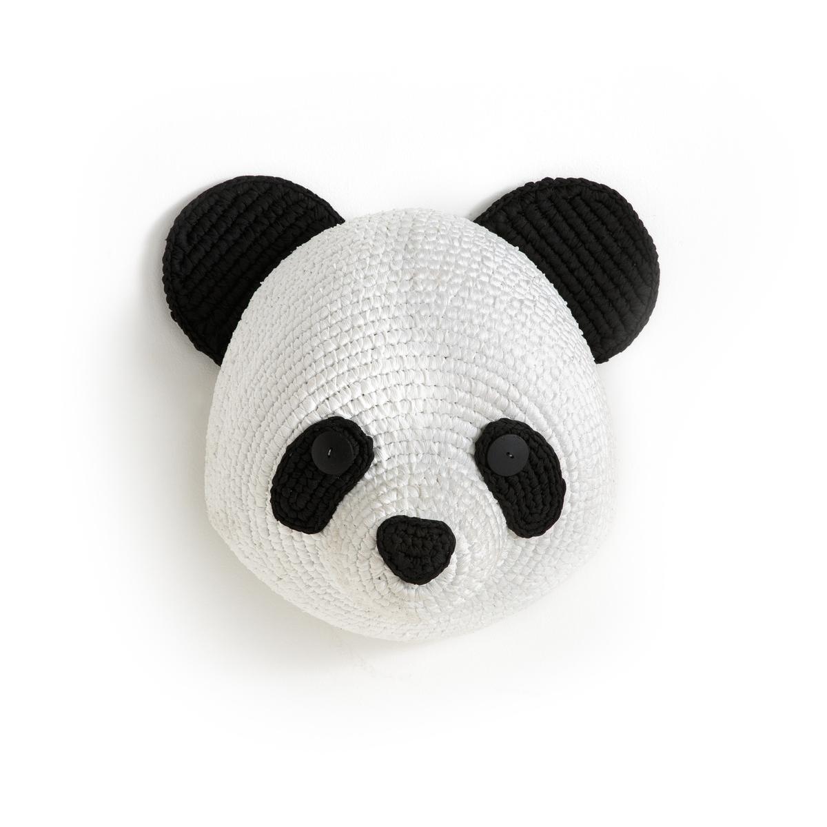 Голова панды настенная Lapilli украшение декоративное homsu голова единорога 38 x 15 5 x 27 см