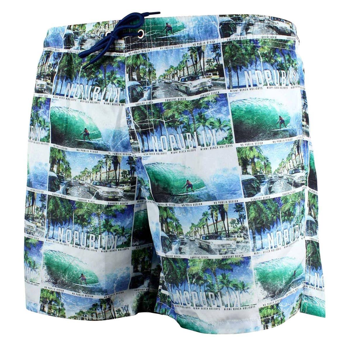 Short De Bain Homme Miami Beach