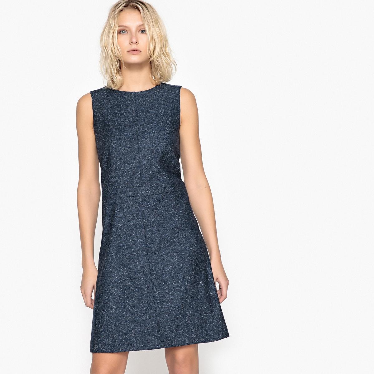 Vestido em lã matizada