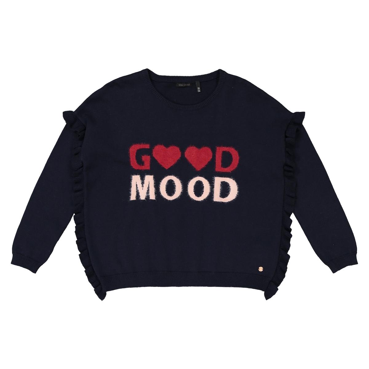 Пуловер, 3-14 лет джинсы бойфренд 3 14 лет