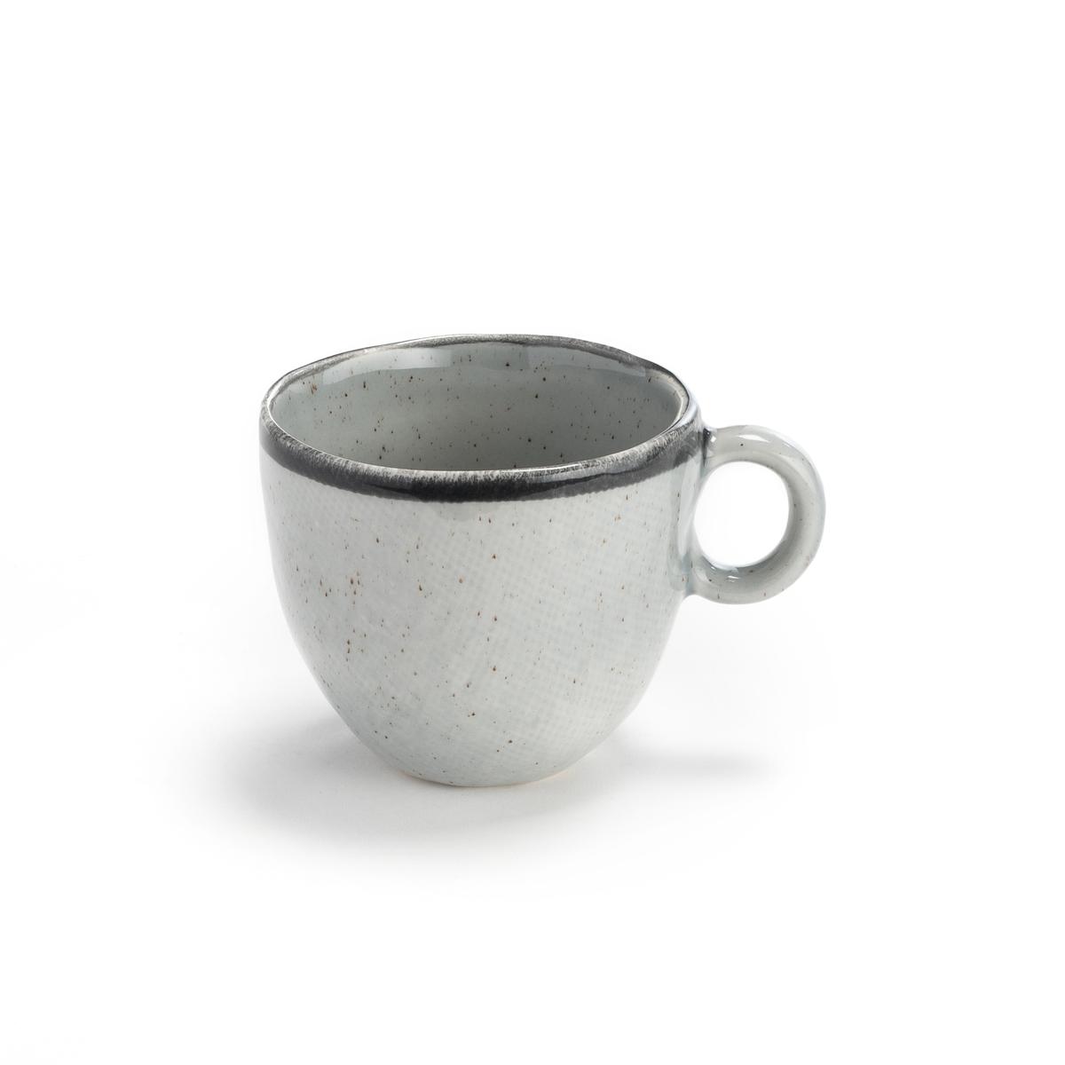 Чашки La Redoute Из керамики Anika единый размер серый чашки la redoute из керамики shima единый размер зеленый