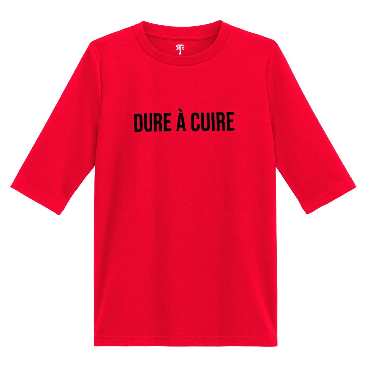 T-shirt de gola redonda, mangas curtas, motivo à frente